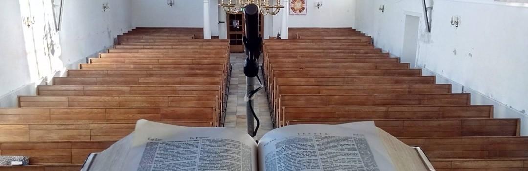 Interieur Nicolaaskerk Kortgene